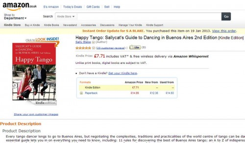 Kindle edition Happy Tango