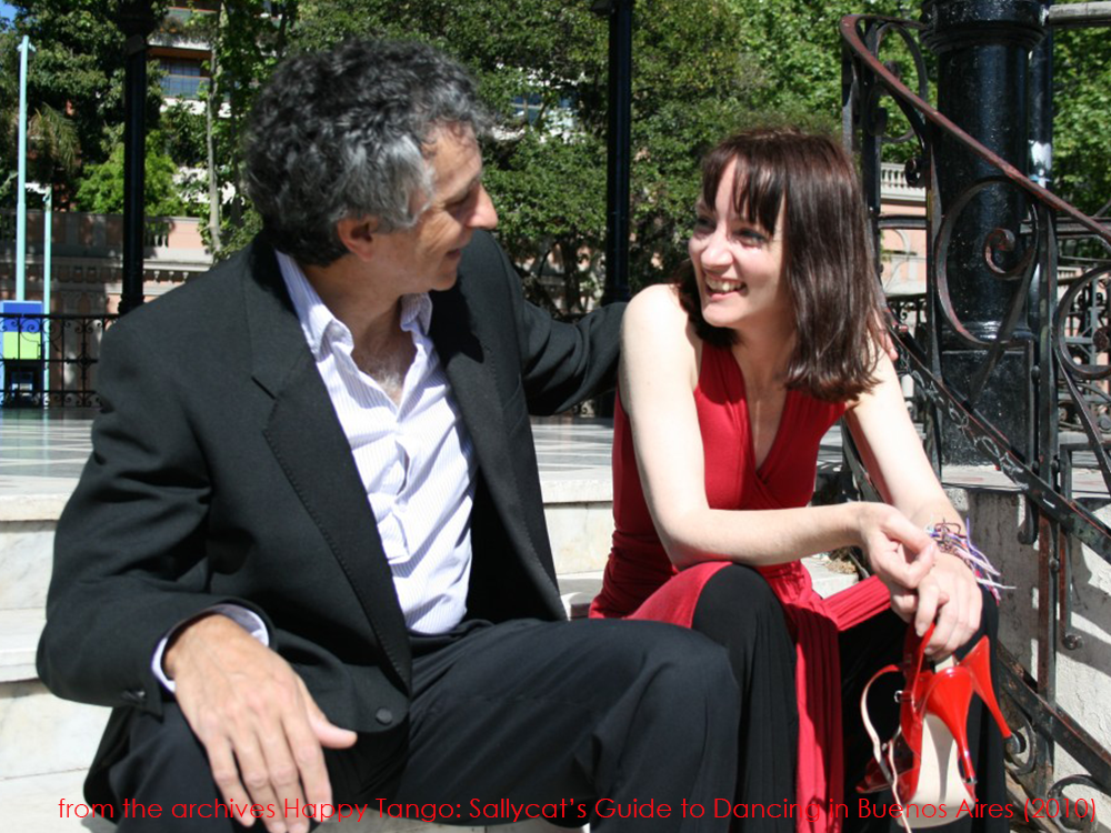 book cover photoshoot chatting La Glorieta Happy Tango archives sallycat